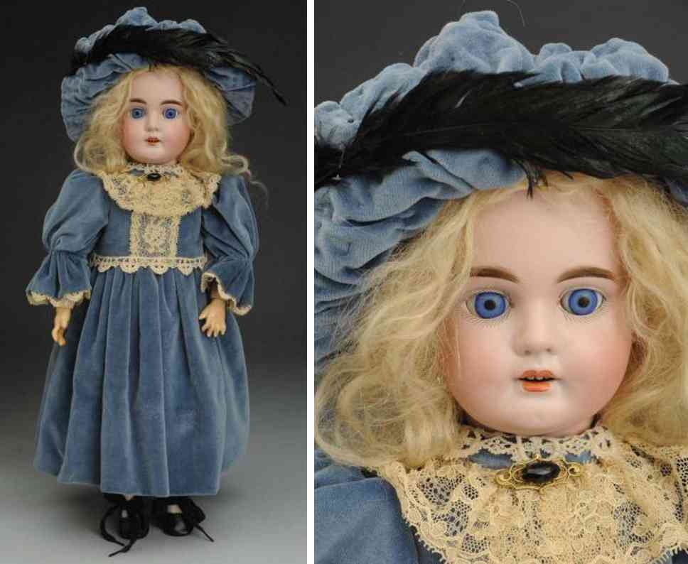 cuno & otto dressel 6 bisque socket head child doll