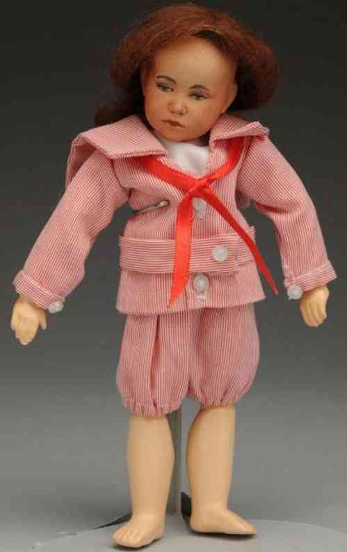 defuisseaux DFB bisque character doll socket head