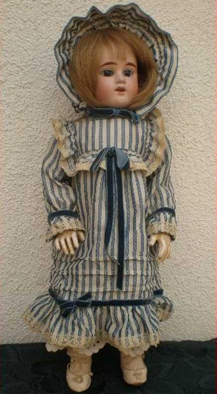 denamur etienne eod e8d  crank head bisque doll