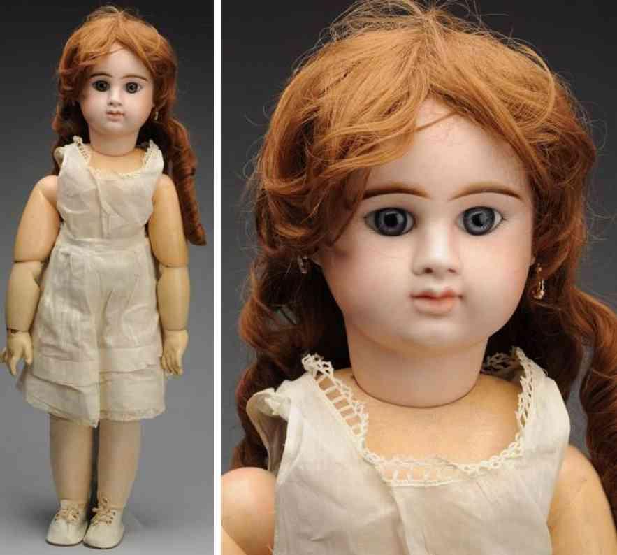 denamur etienne eod e11d bisque socket head baby bebe doll