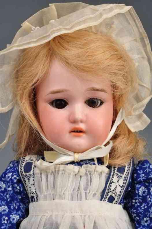 Dressel Cuno & Otto C Bisque head child doll