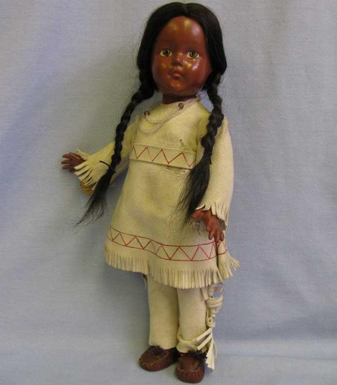 Effanbee Indian 1607 Puppe