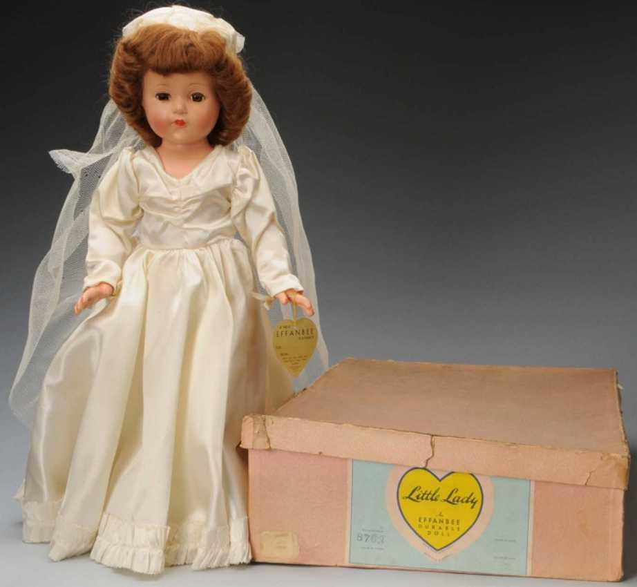 Effanbee 8763 Doll Anne Shirley little lady bride