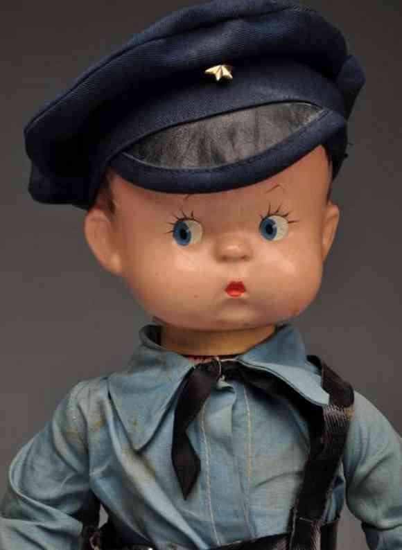 Effanbee Skippy der Polizist Puppe