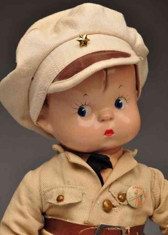 Effanbee Skippy Soldier Puppe als Soldat