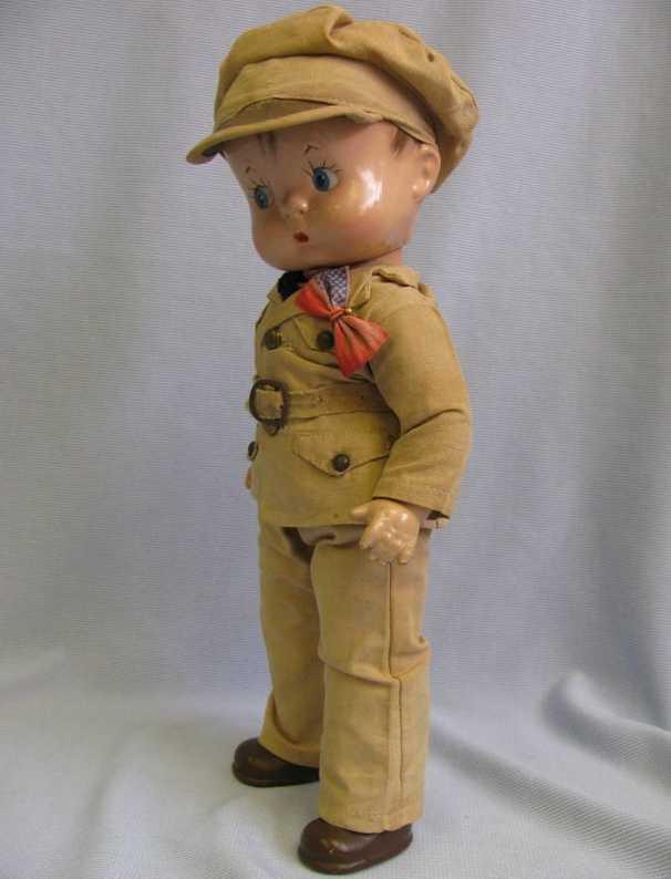 Effanbee ca. 1942 Doll Skippy soldier i