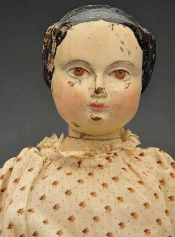 joel ellis britton & eaton jointed wooden doll 1878