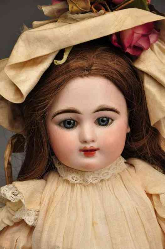fleischmann & blodel 8 bisque socket head doll eden bebe