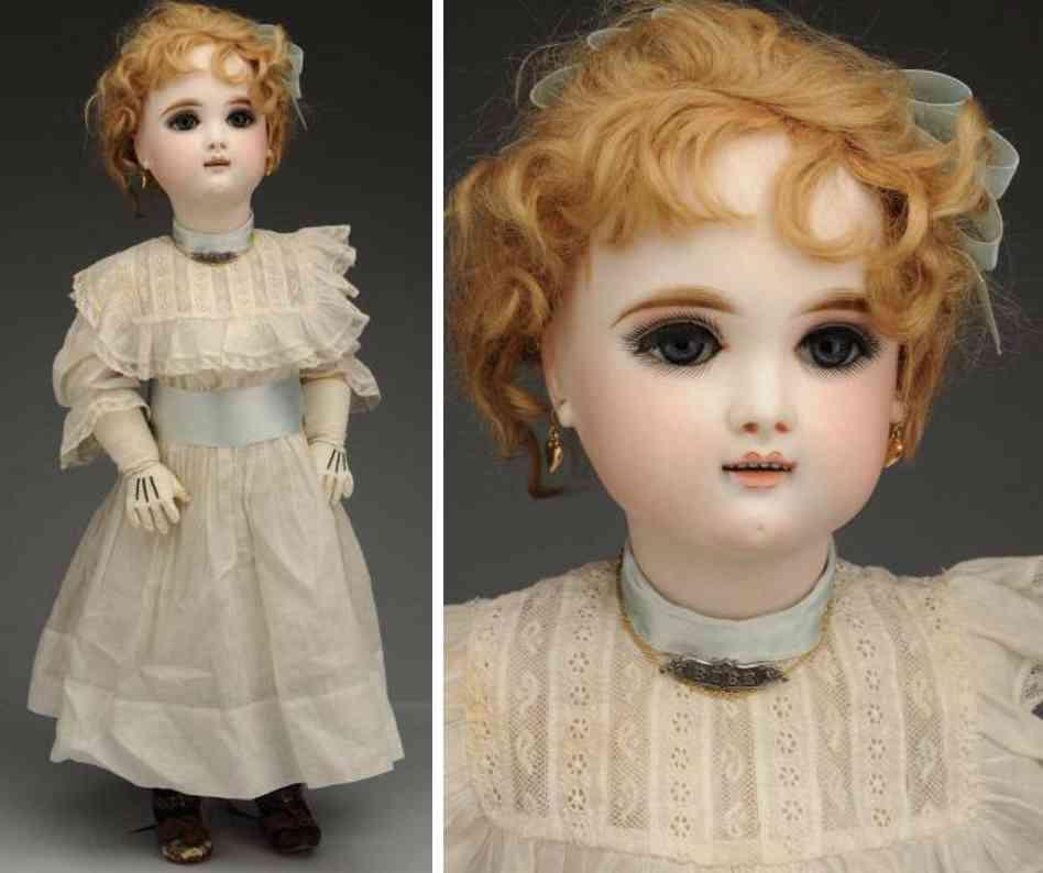 fleischmann & blodel 9 bisque socket head doll eden bebe paris