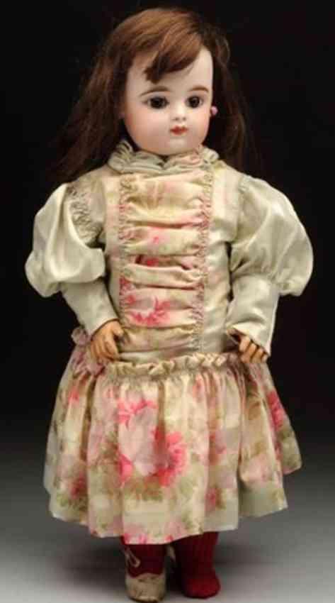 fleischmann & blodel eden bebe perfect french bisque socket head doll