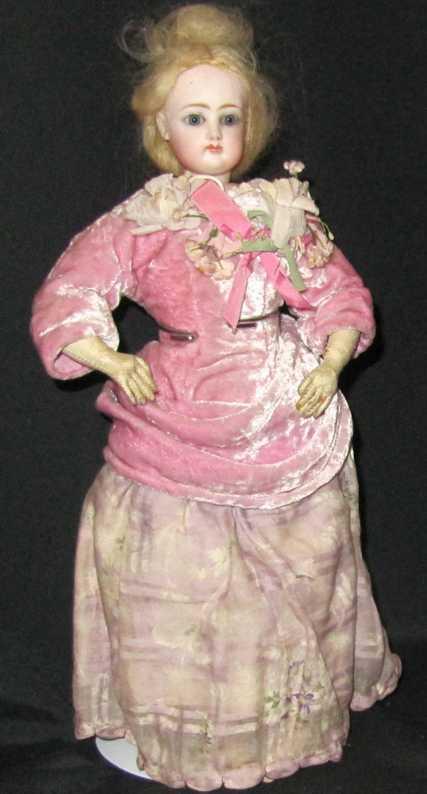 Gaultier 1 Porzellankopf-Puppe