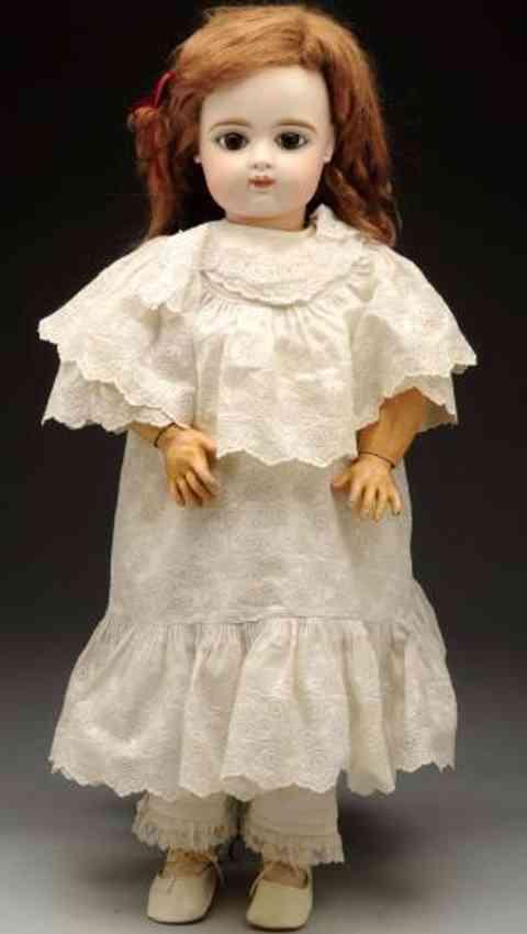 gaultier fg 10 pale bisque socket bebe doll