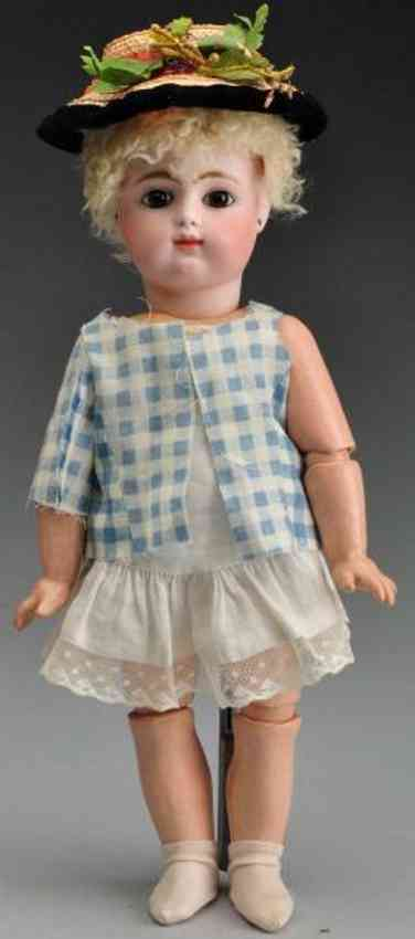 gaultier fg 6 bisque socket head baby doll
