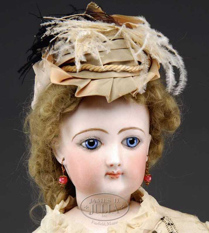 gaultier fg 6 bisque socket head doll