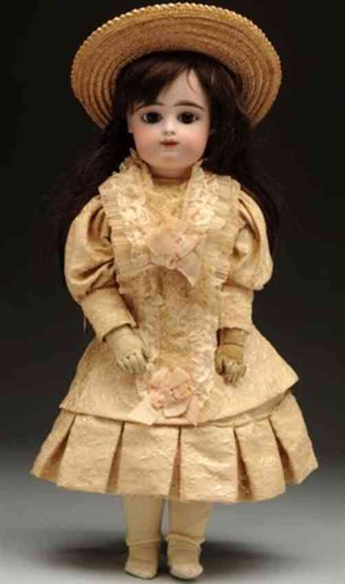 gaultier fg 8 1/2 bebe doll the typical child on a gesland body