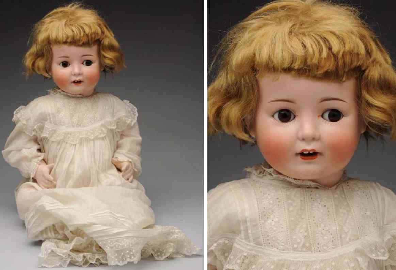 goebel wilhelm b5-11  bisque socket head baby doll