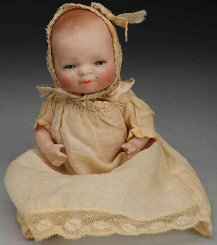 grace storey putnam 6 12 all-bisque bye-lo baby doll