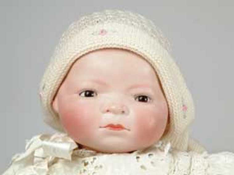 grace storey putnam bisque flange head baby