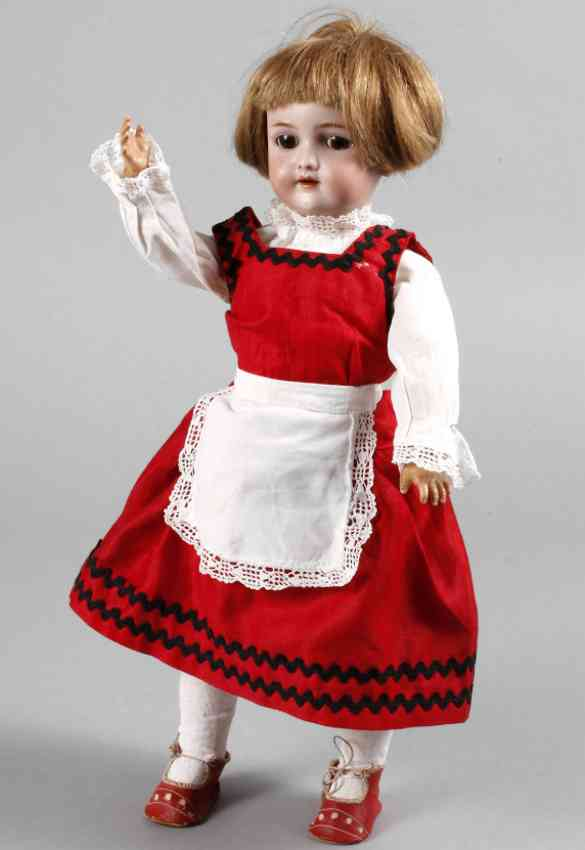 handwerck heinrich simon & halbig 0 1/2 porcelain head doll girl,