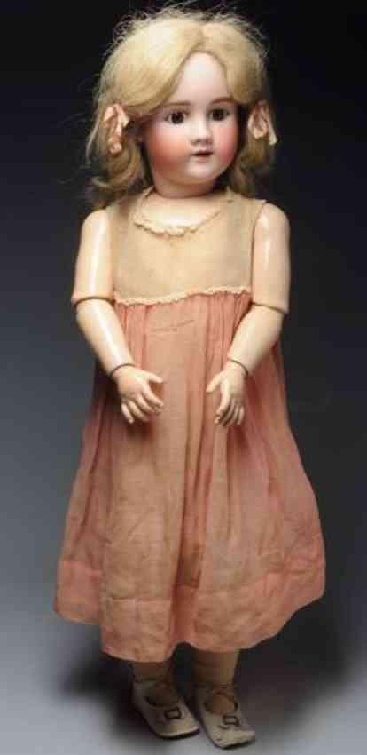 handwerck heinrich 6 1/2 large bisque socket head doll