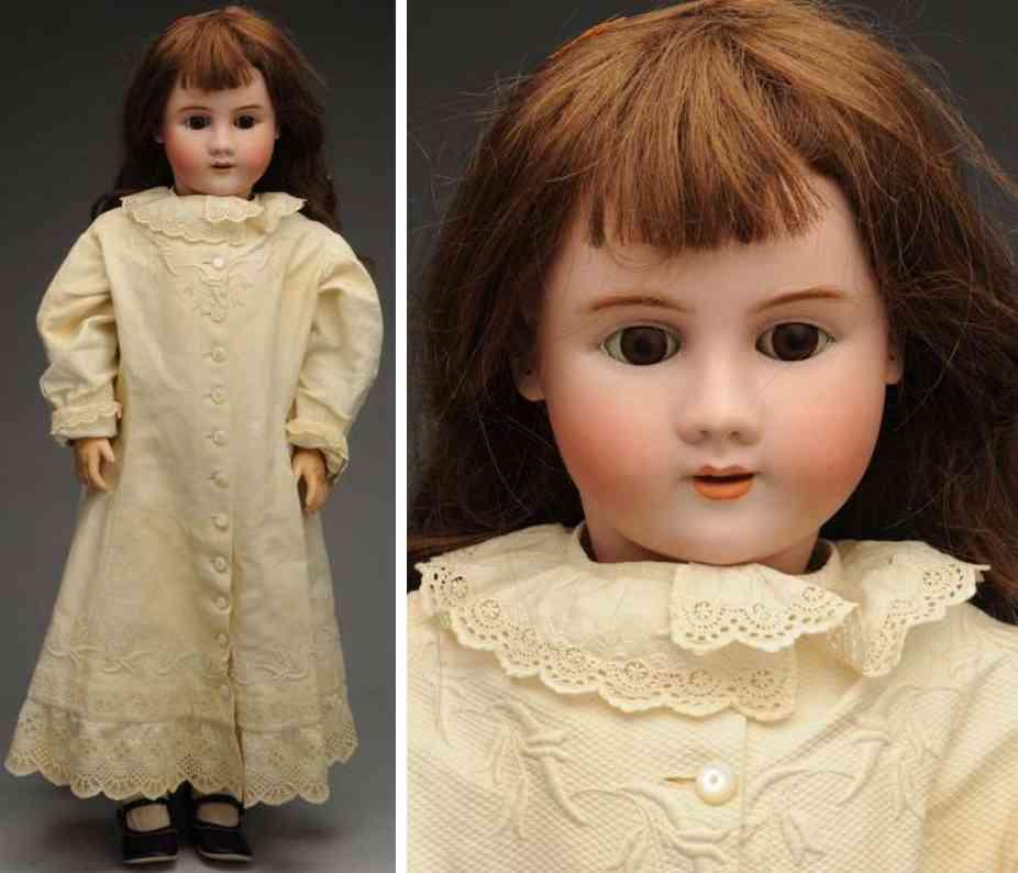 handwerck heinrich 6 1/2 bisque socket head child doll