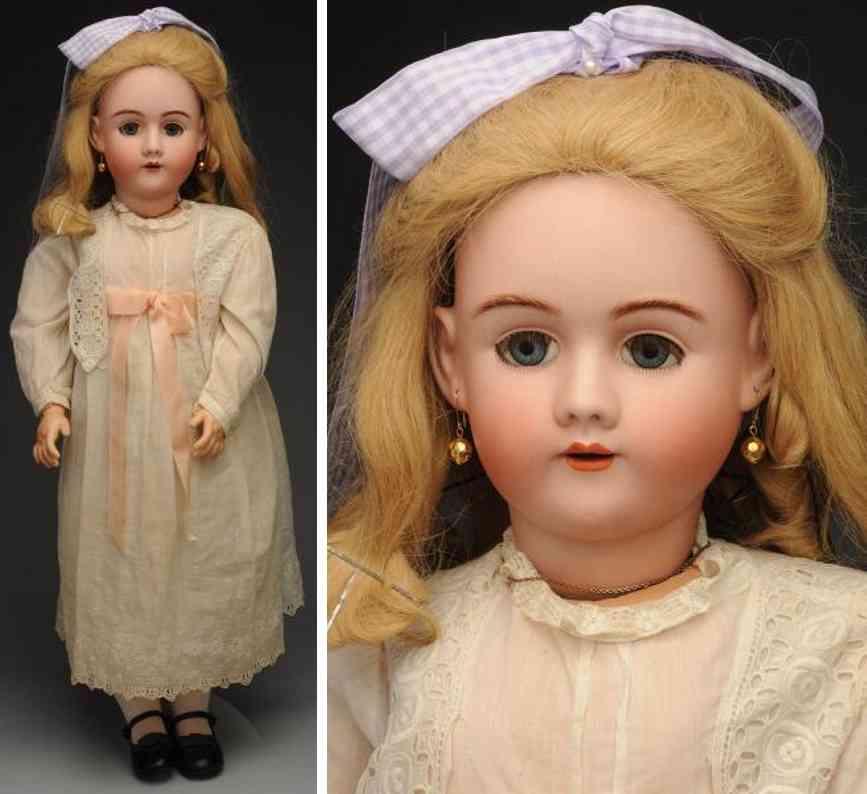 handwerck heinrich 7 bisque socket head child doll