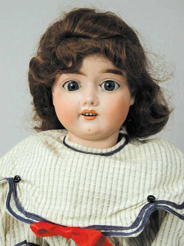handwerck heinrich 7 1/2  bisque socket head doll