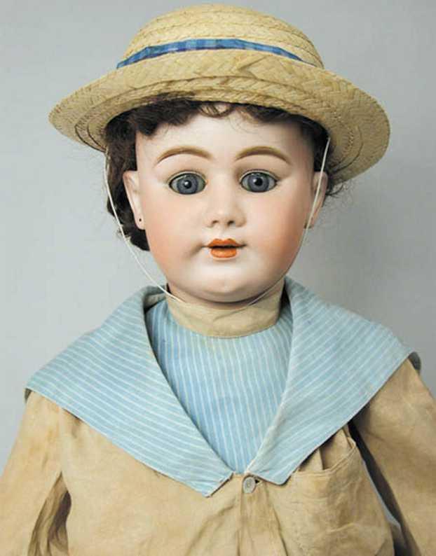 Handwerck Heinrich 79 Bisque socket head doll