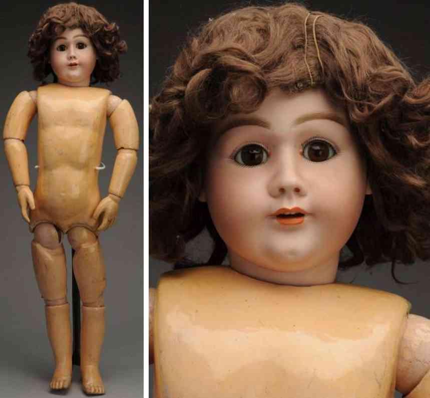 handwerck heinrich 79 21 bisque socket head child doll