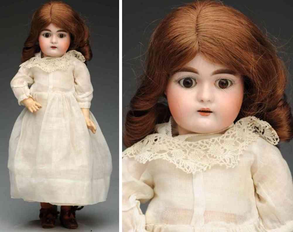 handwerck heinrich 79 10 bisque socket head child doll