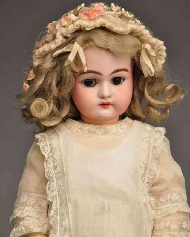 Handwerck Heinrich 79 10 H2 Bisque socket head child doll