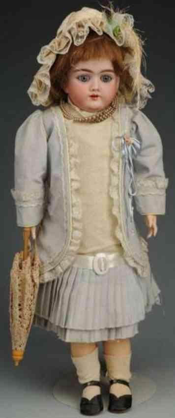 handwerck heinrich 99 bisque head child doll