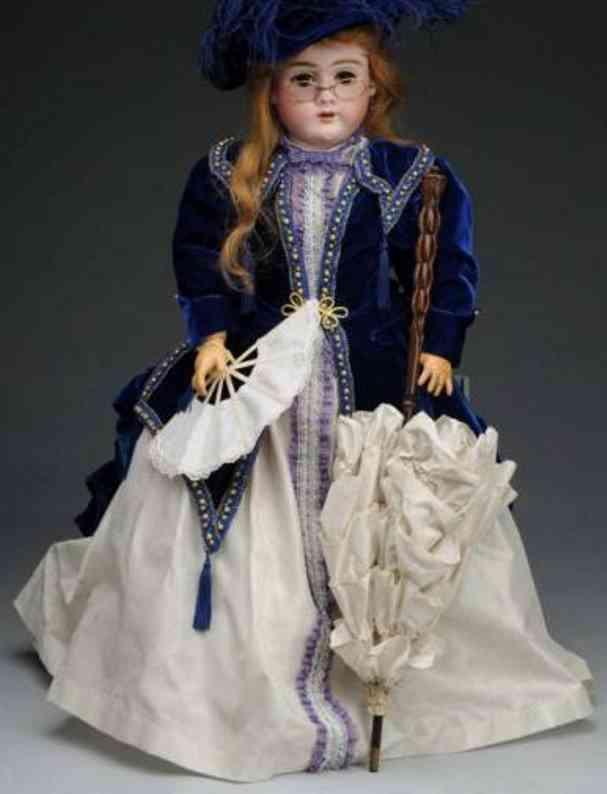 handwerck heinrich 99 doll with bisque socket head doll