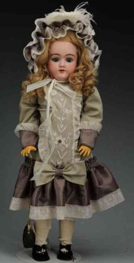 handwerck heinrich 99 dep bisque head child doll
