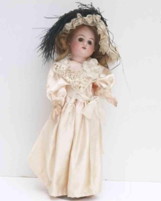 heber & co. 514 c 7/0  porcelain head doll