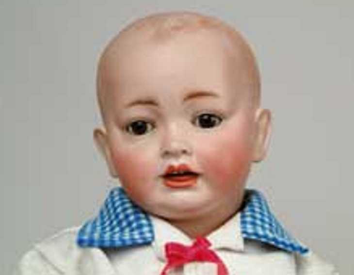 hertel schwab & co 151 baby porzellankopf