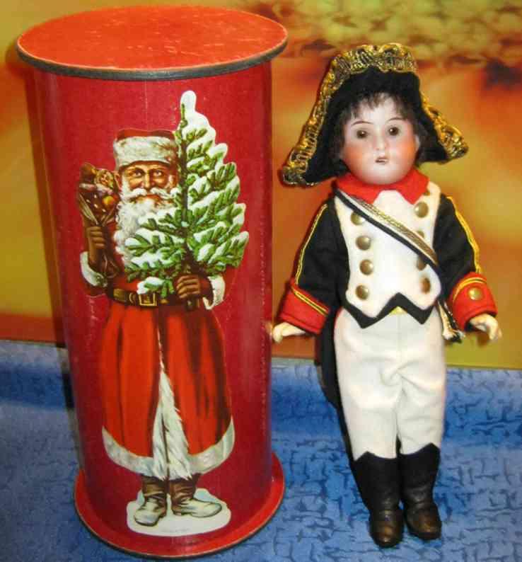 hertwig & co d soldatenpuppe candycontainer nikolaus bild