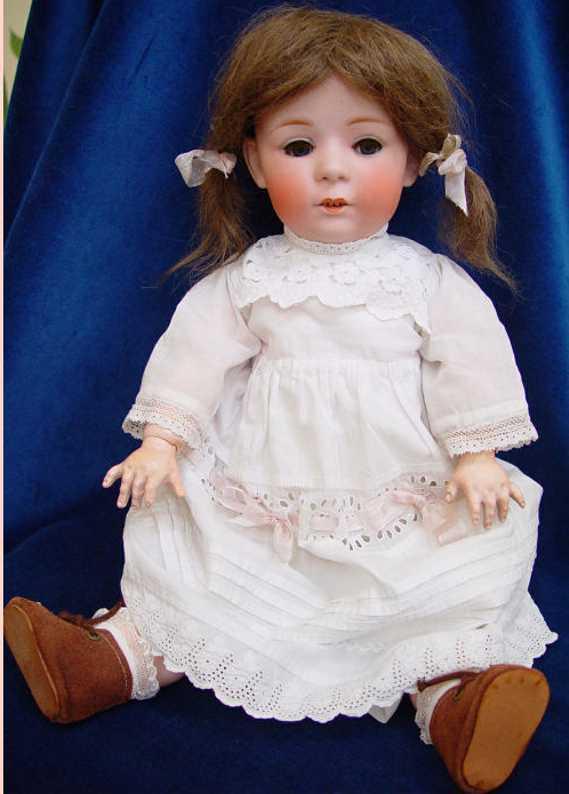 Heubach Gebr. 10731 8 Puppe