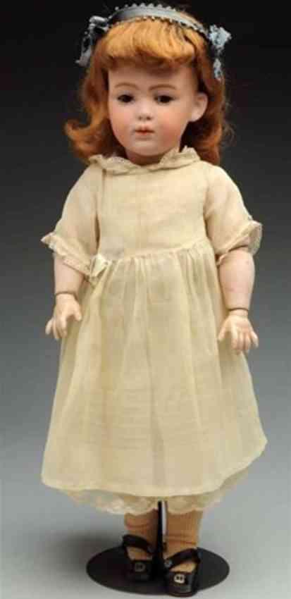 heubach gebr 4707 6  bisque socket head character doll