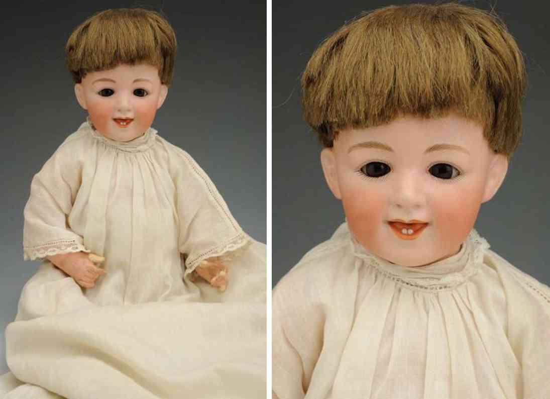 heubach gebr 5636 bisque socket head chacracter baby doll