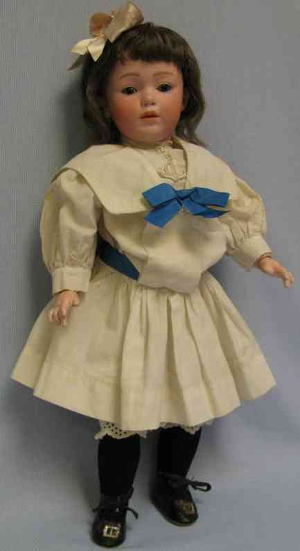 heubach gebr 7407 7 29  character doll   ball-jointed body
