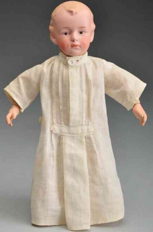 Heubach Gebr. 7622 Bisque socket head character doll