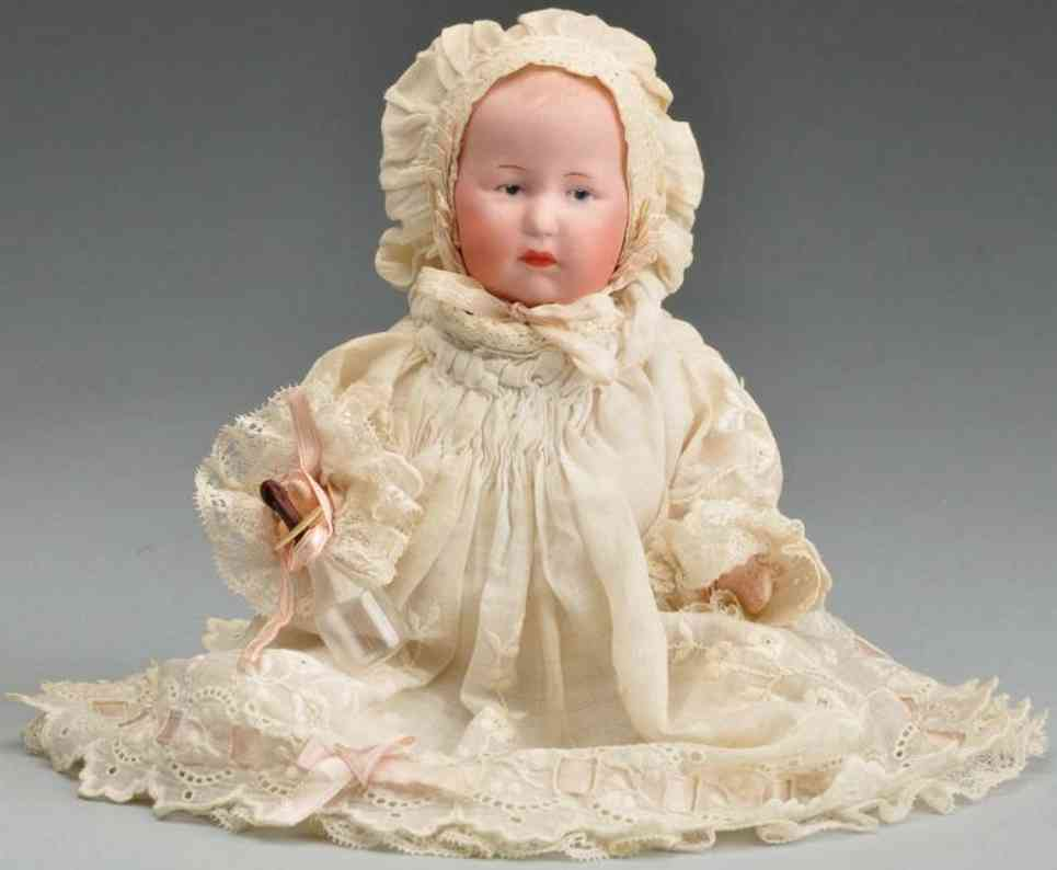 Heubach Gebr. 7769 Bisque head character doll