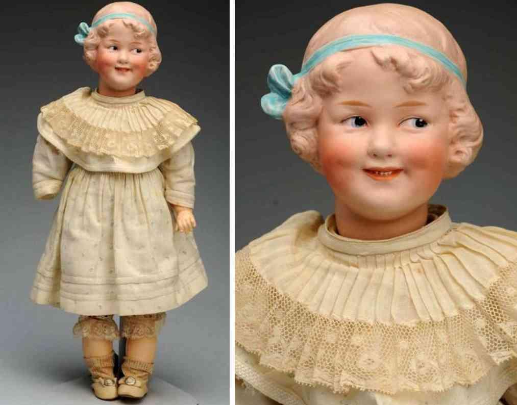 heubach gebr 7788 bisque socket head character doll coquette
