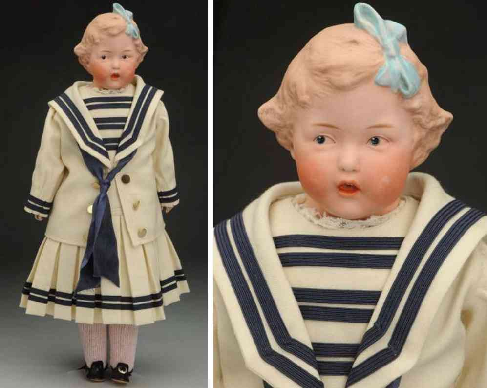 heubach gebr 7851 bisque shoulder head character doll