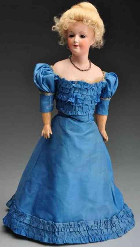 Heubach Gebr. 7925 Bisque turned shulder head lady doll