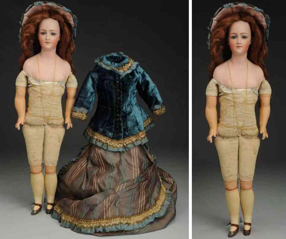heubach gebr 7926 bisque shoulder head lady doll