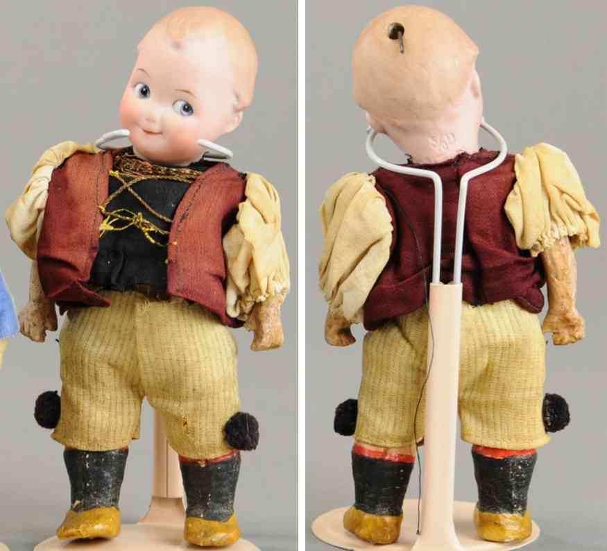 heubach gebr 8068  googly socket head doll