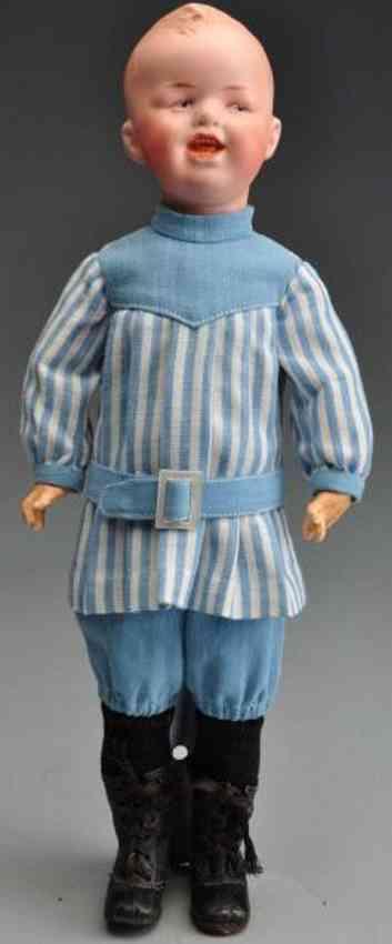 Heubach Gebr. 8191 Bisque socket head character doll