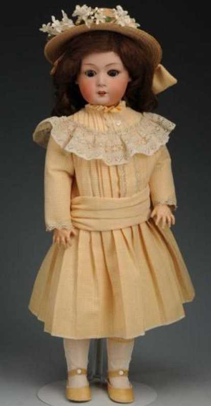 heubach gebr 8192 bisque head character doll